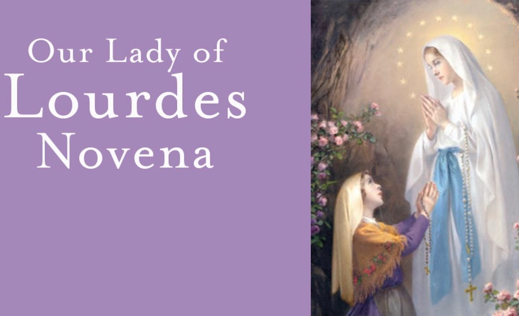 A Novena for Our Lady of Lourdes