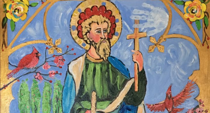 Young Artist Honors Saint Jude