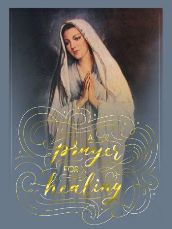 Healing Novena Card