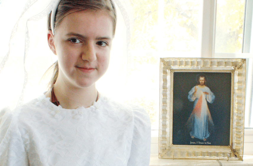 A First Communion Miracle